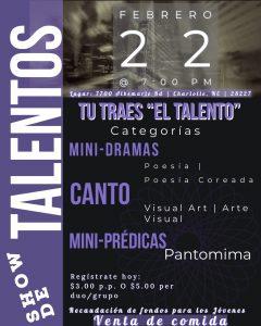Show de Talentos @ Iglesia Sion
