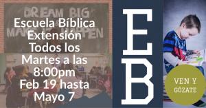 Escuela Bíblica: Extensión